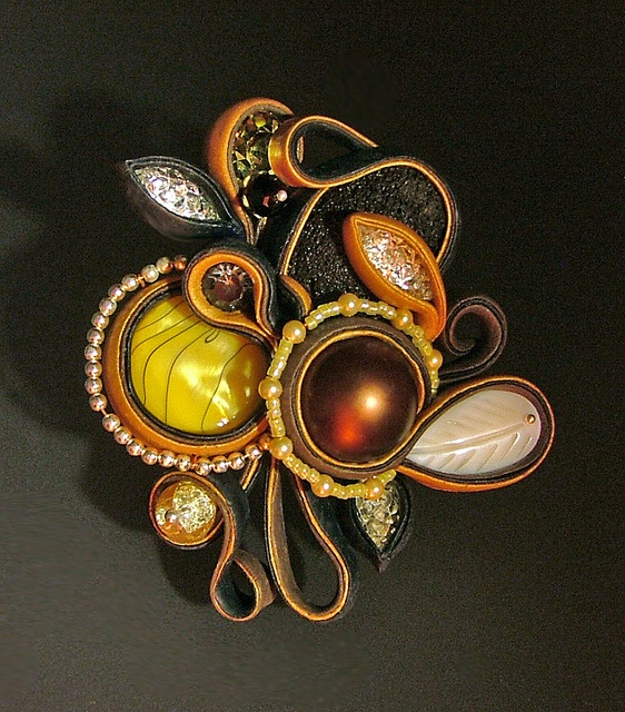 *POLYMER CLAY ~ by Jana Roberts Benzon, via Flickr