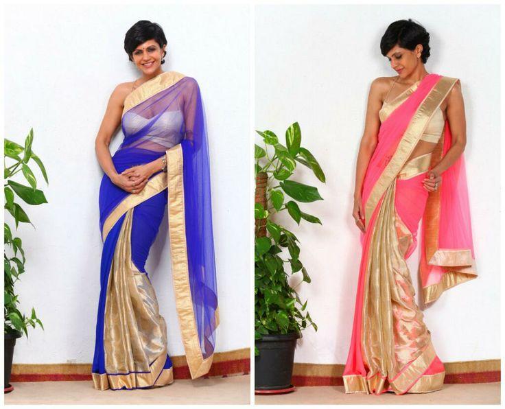 @MandyBedi models her own ditto beautiful @MandiraDesigns #Sarees http://www.MandiraDesigns.com/home.html