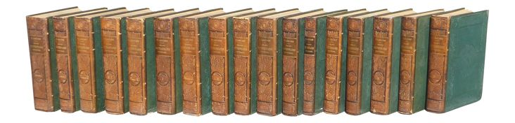 "Pierre Larousse French ""Grand Dictionaire Universel"" Antique Books - Set of 17 on Chairish.com... these are gorgeous but out of my price range. Le sigh."