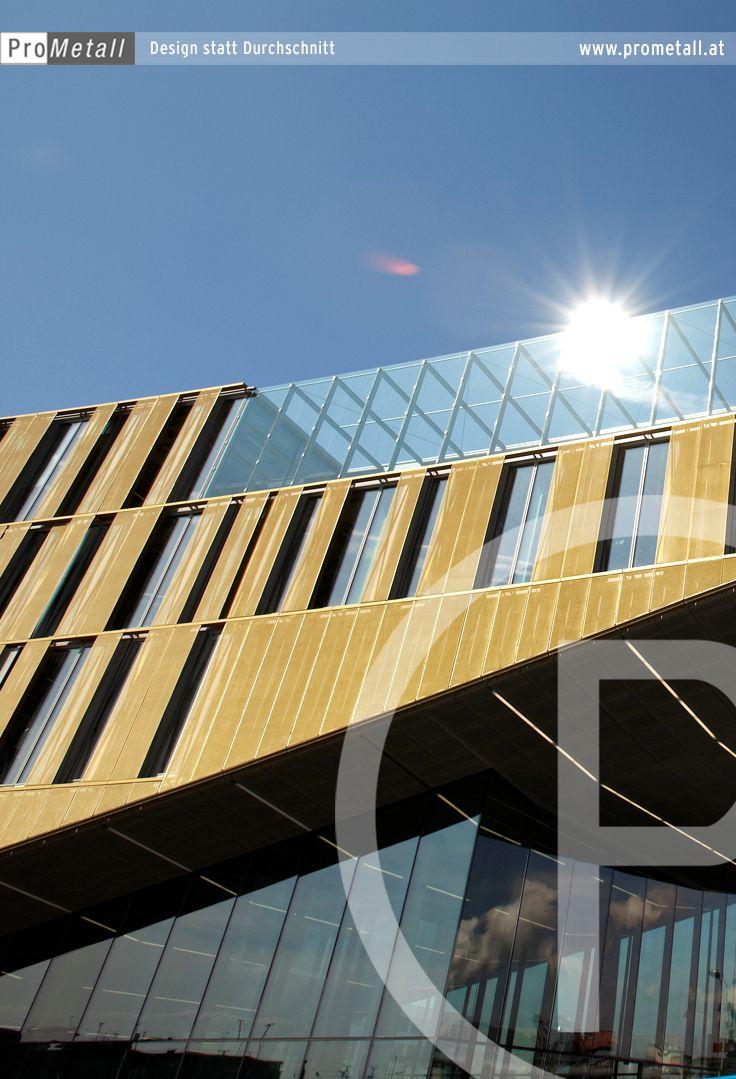 Projekt Voest Alpine Ag 4031 Linz Burogebaudefassade Des Verkaufs Und Finanzzentrums Geschosshohe Paneele Aus Streckmetall Metallfassade Architekt Fassade