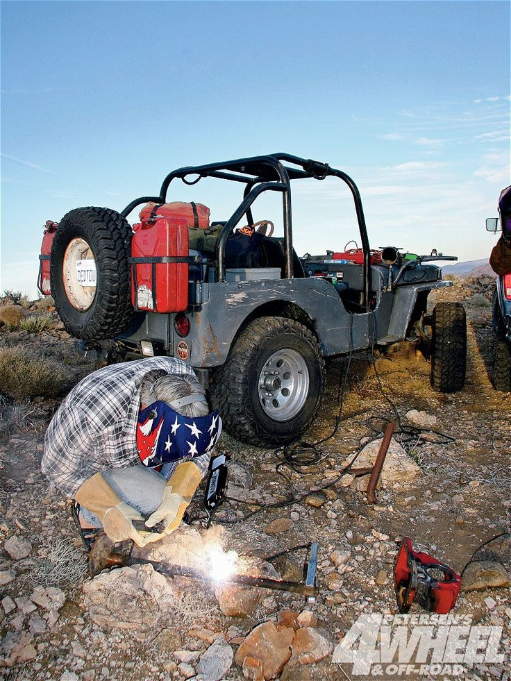 onboard alternator welder, for welding off road, away from home, anywhere you like. Cool idea, an auto welder, welding leads, and a handfull of other bits a pieces, and you're done