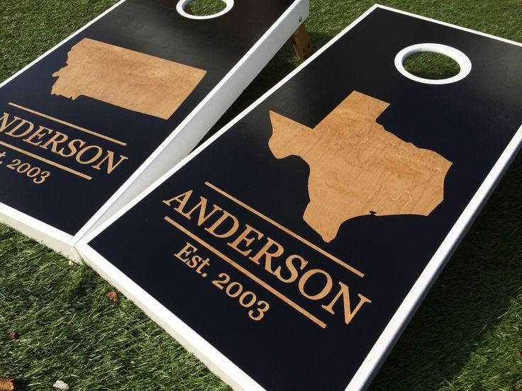 Inverse State Custom Cornhole Boards