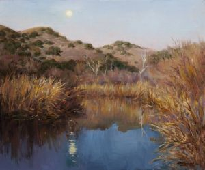 MOONRISE MALIBU CREEK 20X24 - $4,600