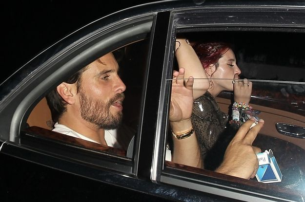 Scott Disick And Bella Thorne Are Back On