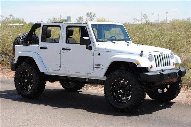 white four door jeep wrangler | 2013 Used Jeep Wrangler Unlimited Sport at TRUCKMAX Serving