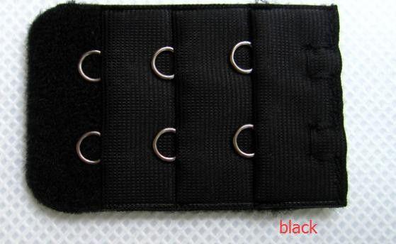 30pcs/lot 3 Row 2 Hooks Bra Extender Bra Extended Buckle 15 Colors Underwear Back Buckle Women's Intimates Accessory 12201