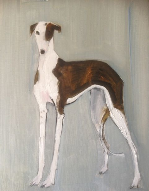 Longdog Oil by Sally Muir