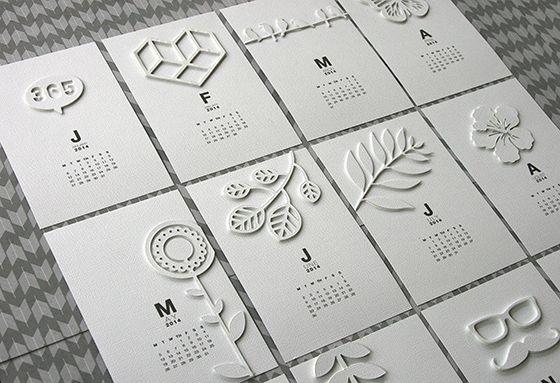 Le calendrier de Denise sur le blog Kesiart <3
