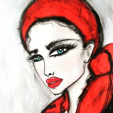 Wendy Buiter Ⓥ @wendybuiter ❤️ Red! ️ #art...Instagram photo | Websta (Webstagram)