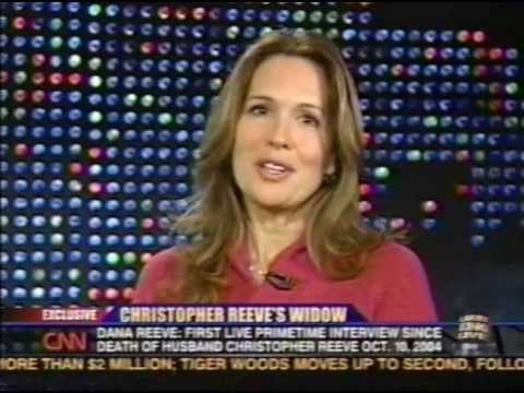 DANA REEVE, WIFE OF CHRISTOPHER REEVE - LARRY KING LIVE, 2005 {31} - YouTube