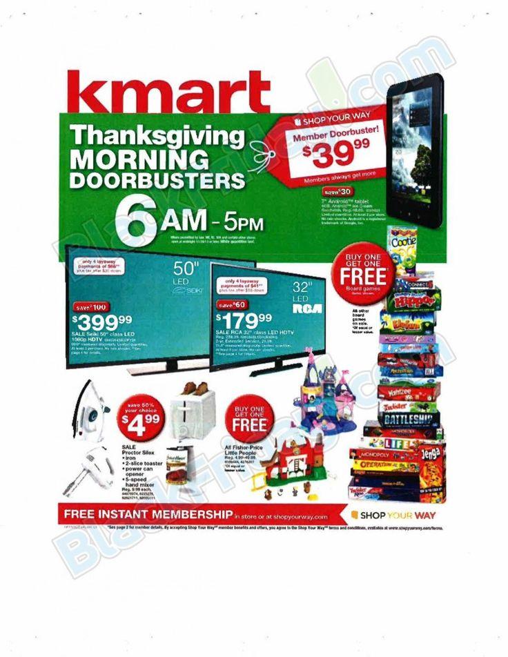 Kmart Black Friday Ad 2013 + Deals! - http://www.livingrichwithcoupons.com/2013/11/kmart-black-friday-ad-2013-deals.html