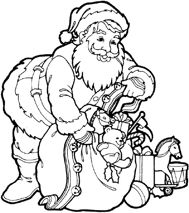 Christmas Colouring Pictures To Print Off : 27 best fargelegging jul images on pinterest
