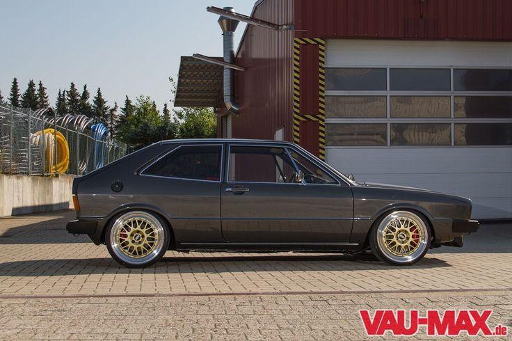"""VAU-MAX.de - Bild - Der Zauberer von """"OS"""" - VW Scirocco Typ 53 im Saugergroup Style - Hochkarätige Tuning-Komponenten im Karmann Sportcoupé ..."""