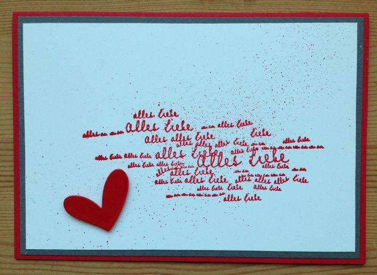 Geburtstagskarte stempel alexandra renke meine karten for Pinterest geburtstagskarte