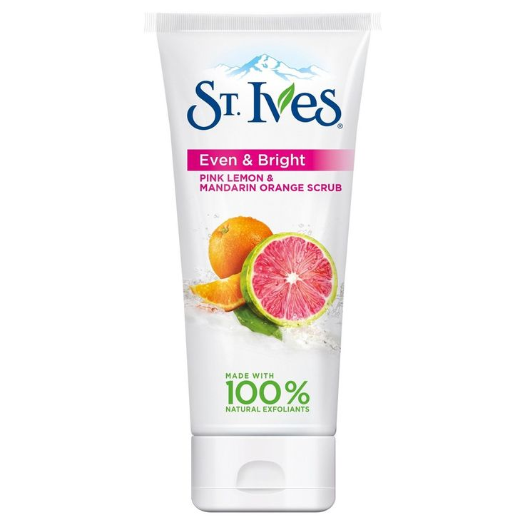 St. Ives Even and Bright Pink Lemon and Mandarin Orange Scrub 6 oz