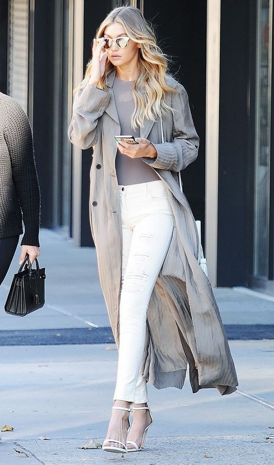 How To Wear White Jeans (Outfit Ideas) 2017