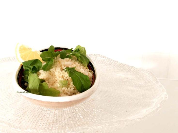 Arabafelice in cucina!: Cous cous al limone e rucola