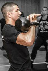 Kettlebell edzés Fitness 2000