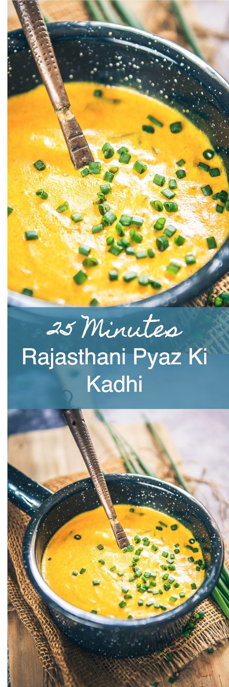 Rajasthani Pyaz Ki Kadhi is an easy to make dish which goes very well with any Indian bread or steamed rice and can be prepared in a jiffy. Indian I Rajasthani I recipe I Food I Easy I Quick I Best I Top I Traditional I Authentic I