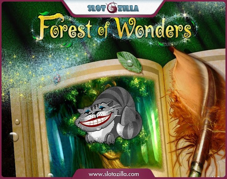 Make a visit to an amazing forest full of prizes! Forest of Wonders is a fairytale based game run by one of the best software providers – Playtech. The stunning graphics will grab your attention straight away and won't let go. You'll meet characters you're already familiar with: Cheshire Cat, a Magician, a Crazy Rabbit, a King, and a Queen. Run into your childhood friends!