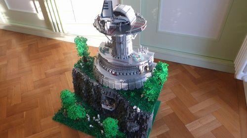 Star wars droid base impressive lego customs pinterest war stars and star wars - Lego star wars base droide ...