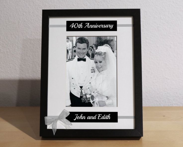 What Gift For 40th Wedding Anniversary: 1000+ Ideas About 40th Anniversary On Pinterest