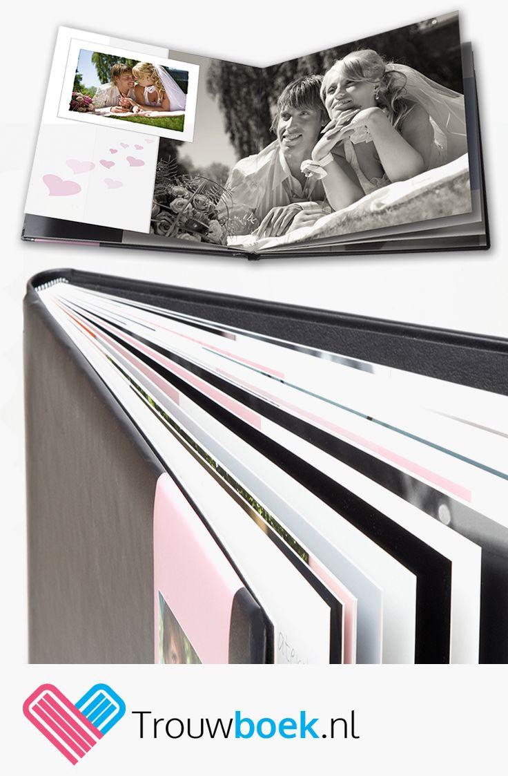Bestel een exclusief fotoboek inclusief het maken van een ontwerp bij Trouwboek.nl