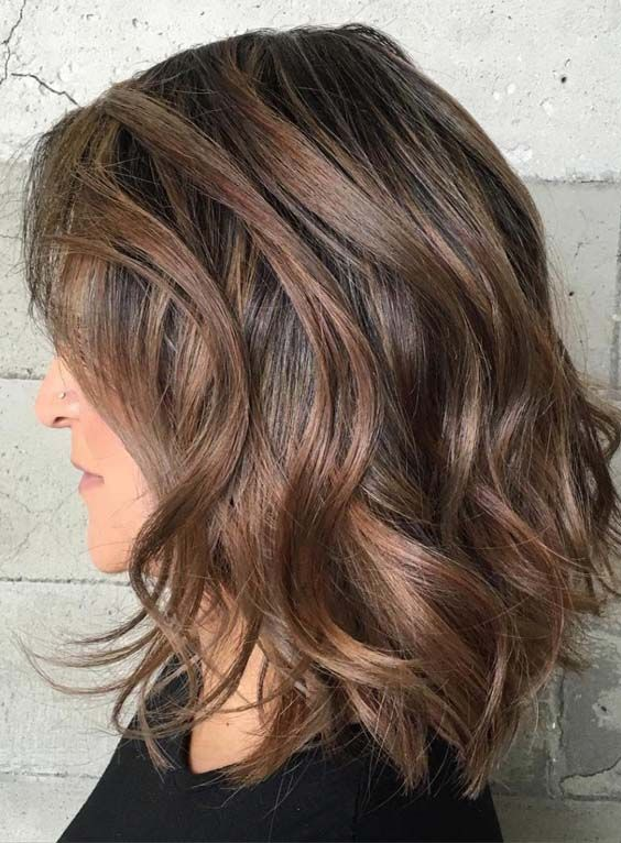 50 Best Medium Length Hairstyles For Thick Hair 2018 Medium Hair