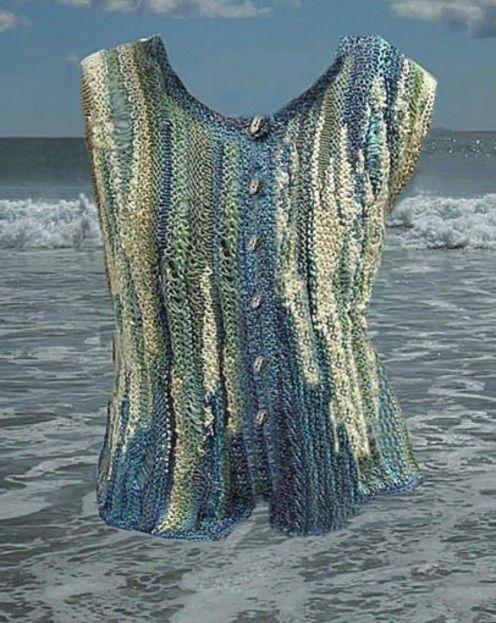Jane Thornley--Knit a Beach