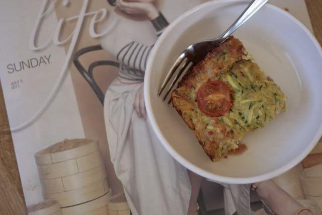 Best ever zucchini slice - fat mum slim | fat mum slim