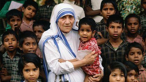 Teréz anya: ma lenne 106 éves a szegények angyala