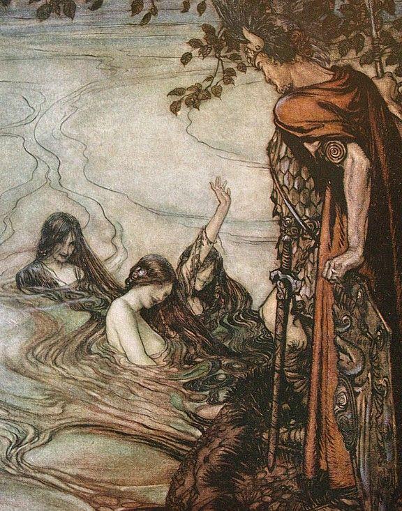Rackham's Rhinemaidens.Gepinnt von Gabi Wieczorek:special mermaid scenarios
