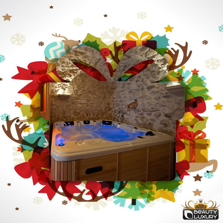 Choose the Hot Tub BL-829 Beauty Luxury for your Christmas! http://www.beauty-luxury.com/en/hot-tub-spa-bl829-p-31.html
