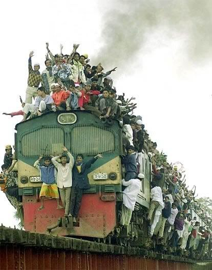 Indian train journey ....