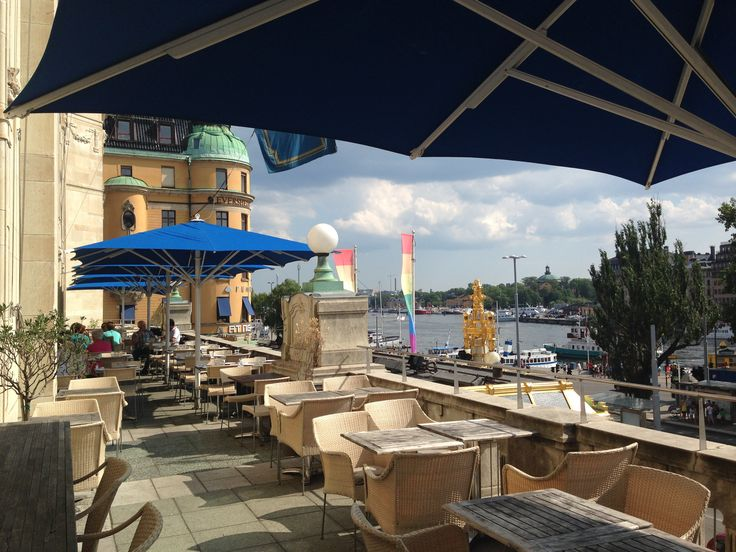 Dramatenterrassen Restaurang Pauli. Stockholm