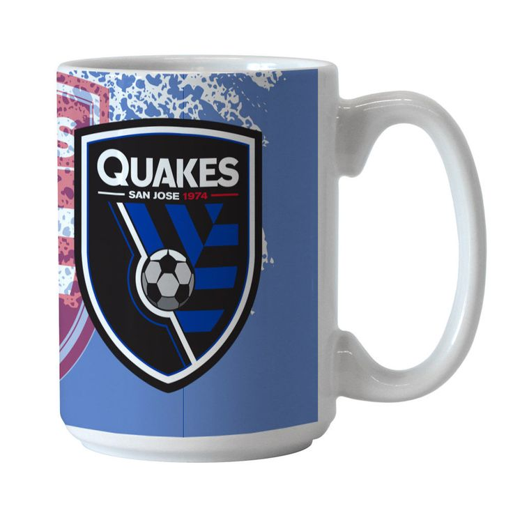 San Jose Earthquakes 15oz. Ceramic Mug