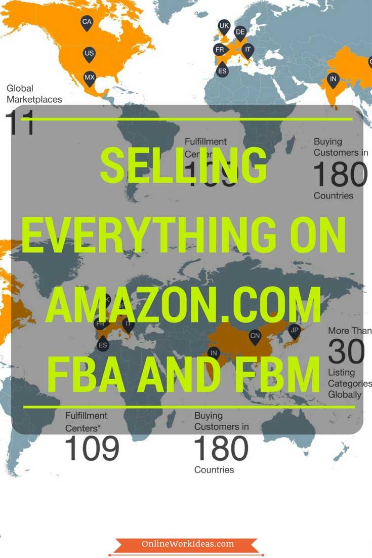 Sell anything with Amazon FBA or FBM program. Amazon is one of the most popular company in the world that accesses 95 million customers monthly worldwide. Dispatch your products sold on Amazon, from your warehouse or Amazons warehouse for faster responce. Learn if FBA or FBM is more suitable for you.