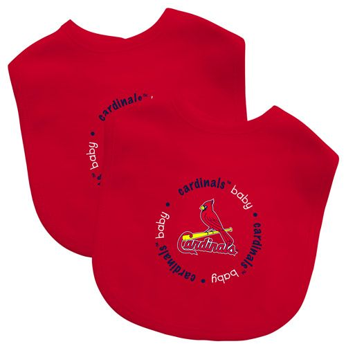 St. Louis Cardinals 2 Pack Baby Bib by Baby Fanatic - MLB.com Shop