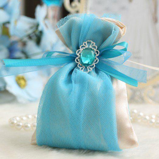 Satin gift bag, candy bag