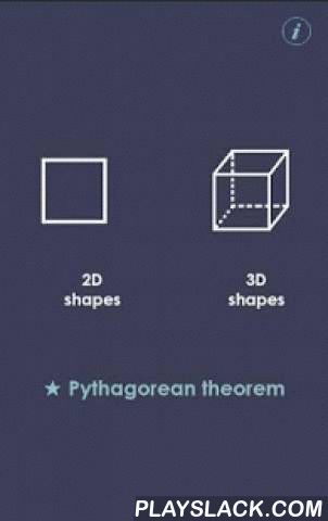 Volume And Surface Area  Android App - playslack.com ,  This is a new easy for understanding app where you can find both 2D and 3D geometric shapes. 2D shapes: triangle, circle, square, rectangle, trapezoid, pentagon, parallelogram, rhombus, ellipsis, sector of a circle, annulus, sector of an annulus. 3D shapes: pyramid, sphere, cube, cuboid, cone, cylinder, prism, tetrahedron, ellipsoid, truncated pyramid, truncated cone. Convenient and understandable interface. Picture of each shape with…