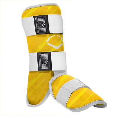 Other Baseball Protective Gear 181317: Evoshield Speed Stripe Adult Baseball Batters Ankle/Leg Guard - Yellow -> BUY IT NOW ONLY: $54.95 on eBay!
