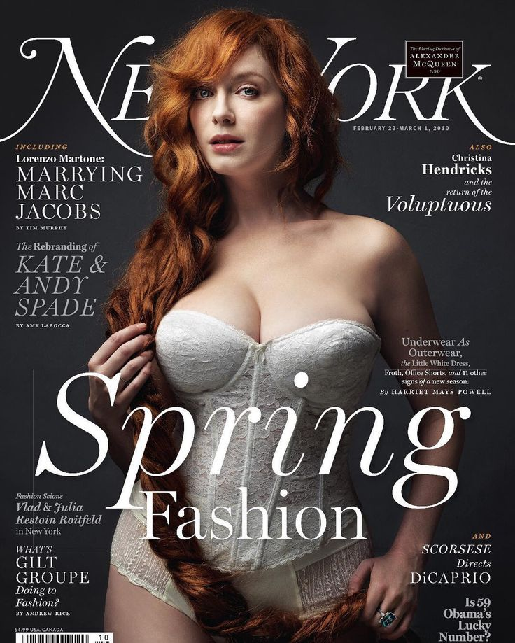 #tbt That time the inimitable #ChristinaHendricks graced the cover of our 2010 Spring Fashion issue. : @marcogrob by nymag