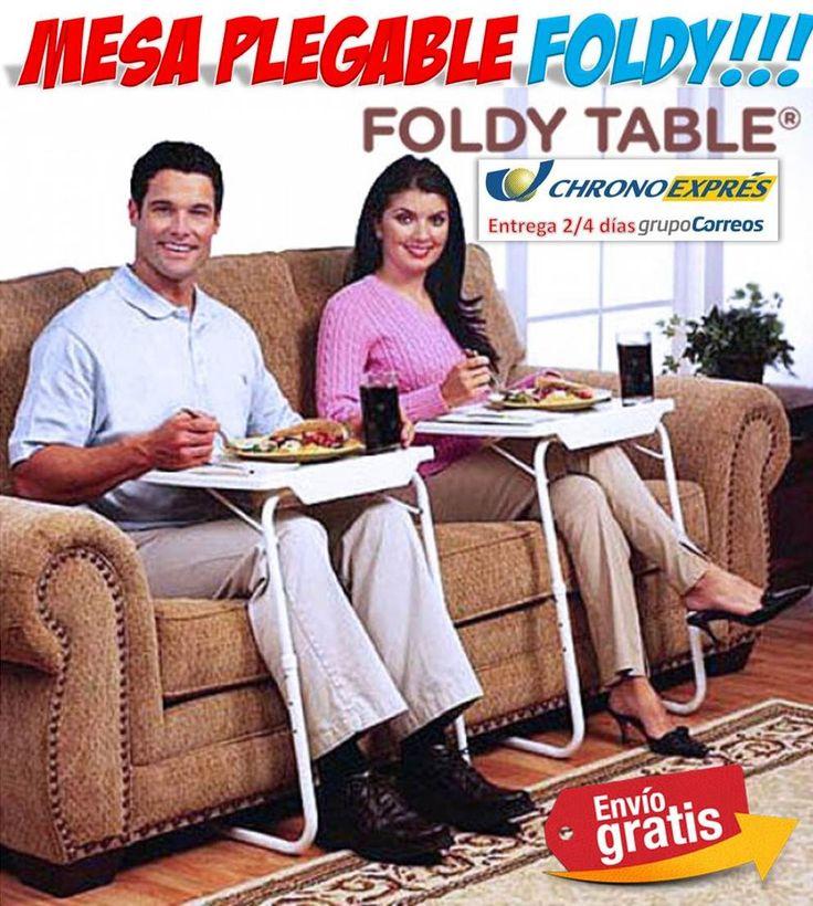 #regalos #hogar #mesas #ofertas #muebles #descuentos #compras #yougamebay Mesa uxiliar plegable y portatil para comer en la cama o en el sofa de casa. http://www.yougamebay.com/es/product/comprar-mesa-plegable-mesa-portatil-para-sofa---tienda-mesas-auxiliares