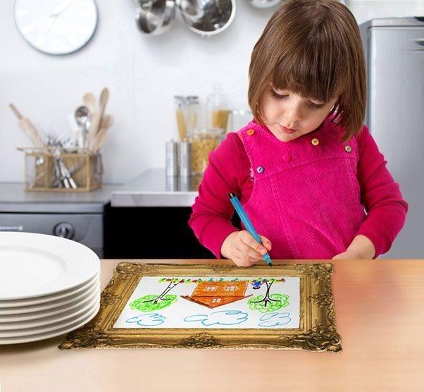 Artık çocuklarınıza yemek yedirmek hem çok kolay hem de çok keyifli :)  http://www.buldumbuldum.com/hediye/mealtime_masterpiece_yemek_vakti_saheserleri/