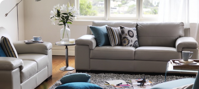 The Plush Dante 2 And 3 Seater Sofas   100% Genuine Leather In A Supple Pale  Grey Leather | Living Room Inspiration | Pinterest | Living Room  Inspiration, ...