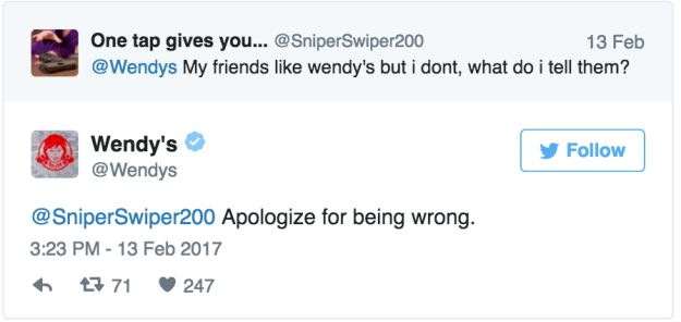 When they sided with your friends instead of you: | Community Post: 15 Times The Wendy's Twitter Was The Most Savage