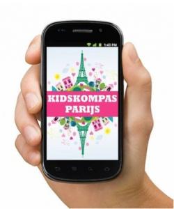 Kidskompas Parijs... Nu nog een slimme telefoon!