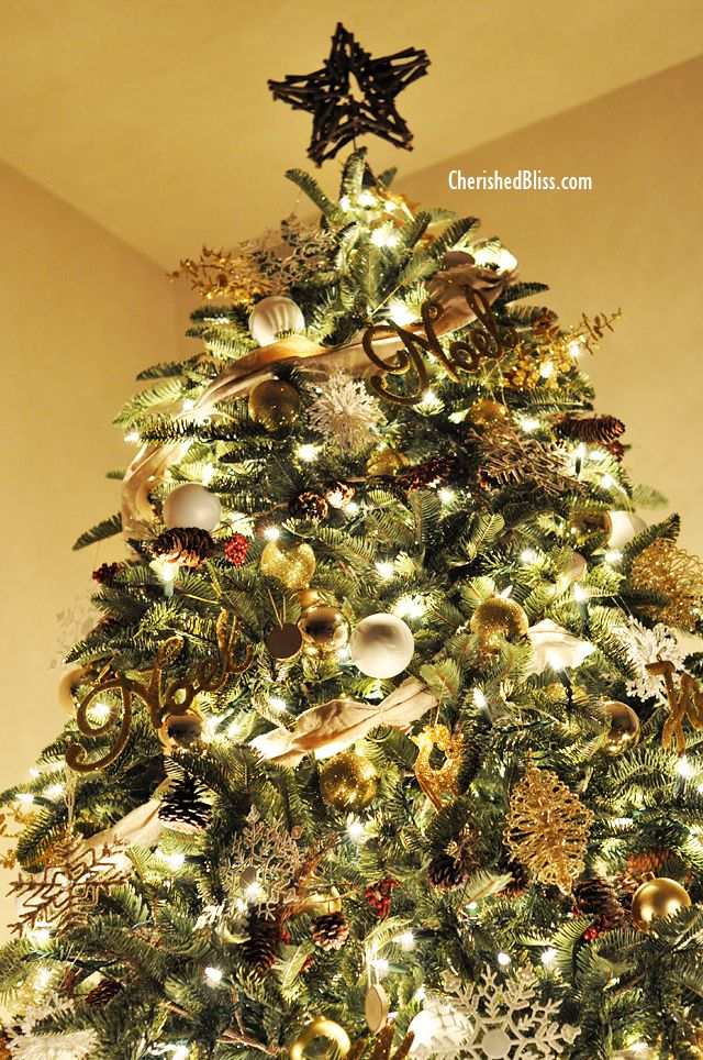 Rustic Glam Christmas Tree Reveal