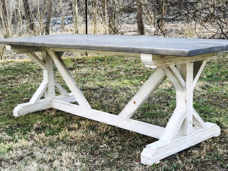 Best 25+ Farmhouse Table Plans Ideas On Pinterest