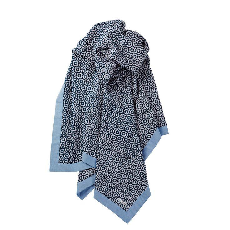 Kayla Lace Chambray Blanket